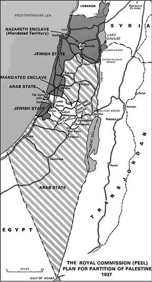 The Royal Commission (Peel) plan for partition of Palestine 1937.jpg